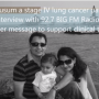 Kusum, a stage IV lung cancer patient interview with 92.7 BIG FM Radio